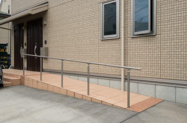 安全で快適な玄関|介護リノベーション